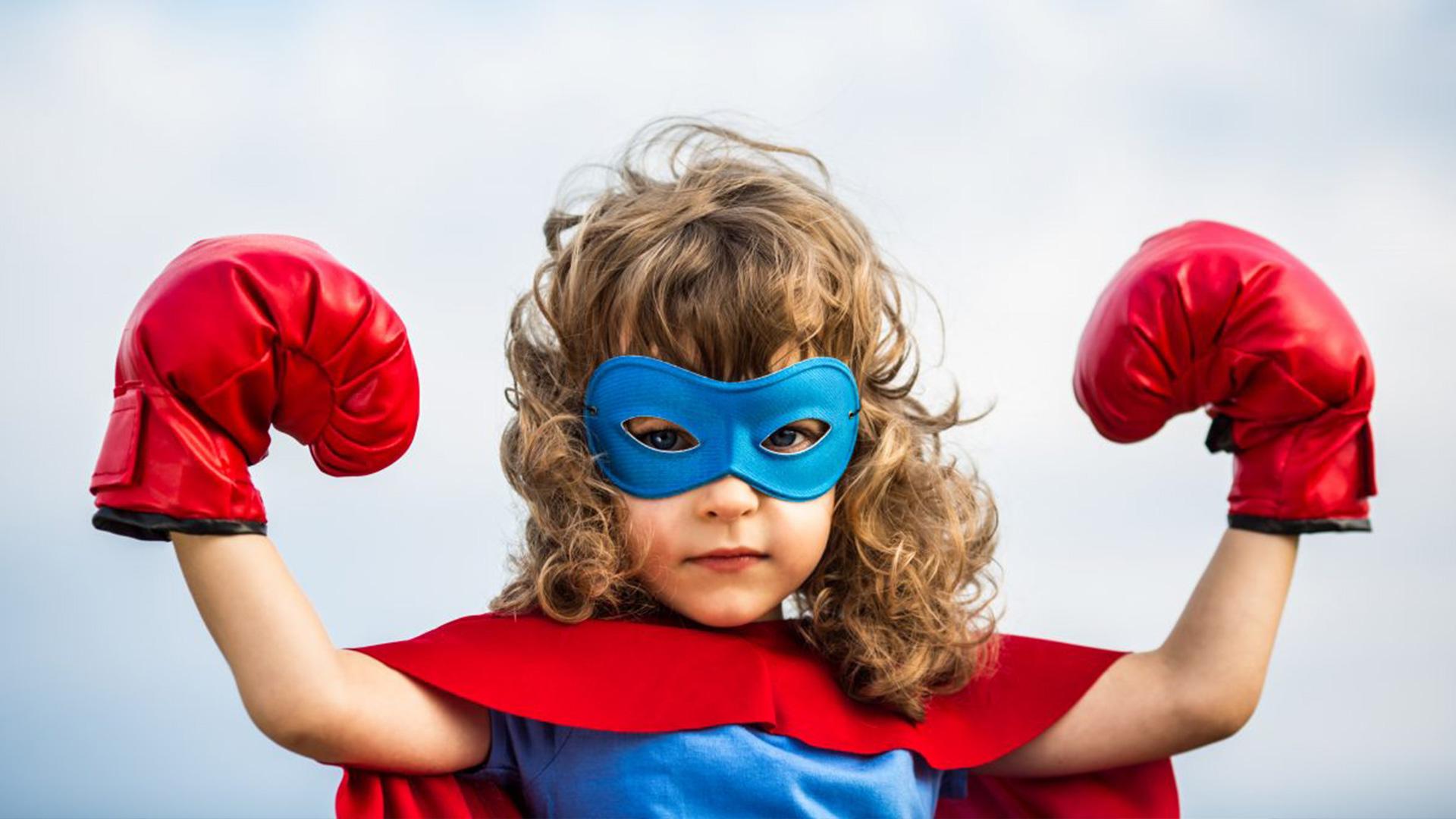 Projekt Wzmocnione - dziecko w przebraniu super bohatera