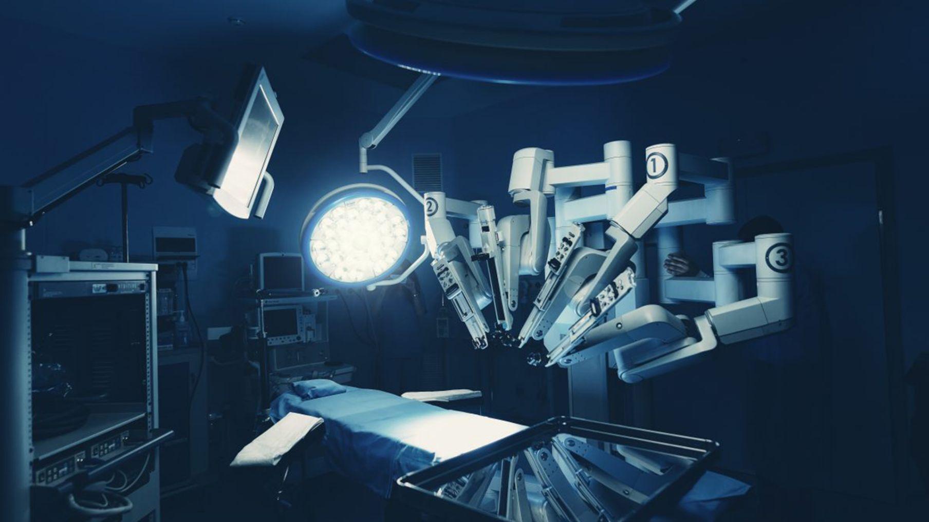 Projekt Cyfrowy Szpital - robot do operacji